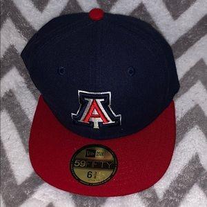 NWOT kid's NewEra University of Arizona fitted hat